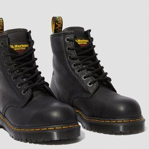 NEW doc martens icon 7B10 leather steel toe boots